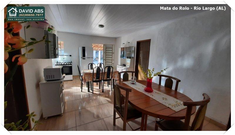Casa à venda  no Mata do Rolo - Rio Largo, AL. Imóveis