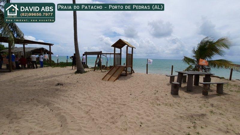 Terreno/Lote à venda  no Patacho - Porto de Pedras, AL. Imóveis